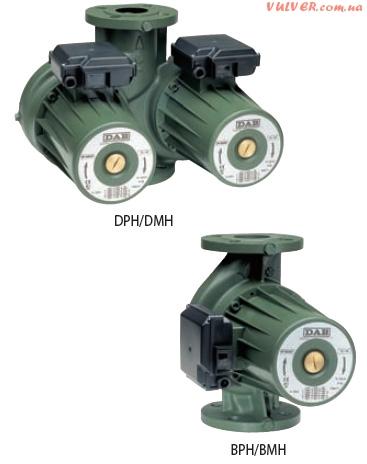 Циркуляционные насосы Dab с мокрым ротором BMH, BPH, DMH, DPH