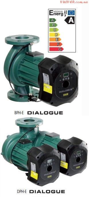 Циркуляционные насосы DAB BPH-E/DPH-E DIALOGUE