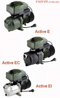 Автоматические насосные станции DAB система ACTIVE J, JI, JC, E, EI, EC