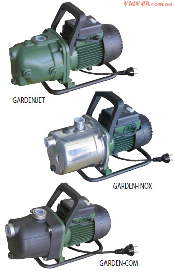 Центробежный самовсасывающий насос GARDENJET — GARDEN INOX — GARDEN COM для садоводства