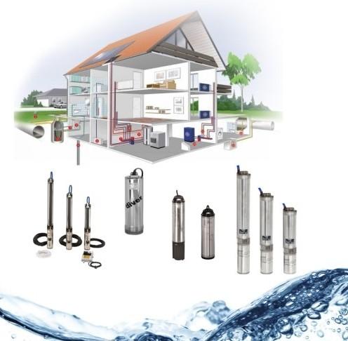 система водоснабжения жилого дома