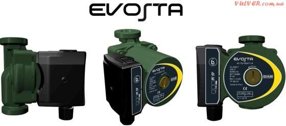 Новый бытовой циркуляционный насос с электронным регулированием EVOSTA
