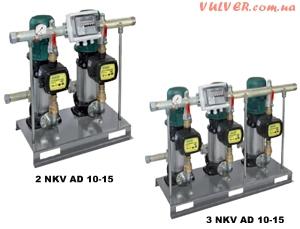 2/3 NKV AD 10-15 станции поддержания постоянного давления с ACTIVE DRIVER