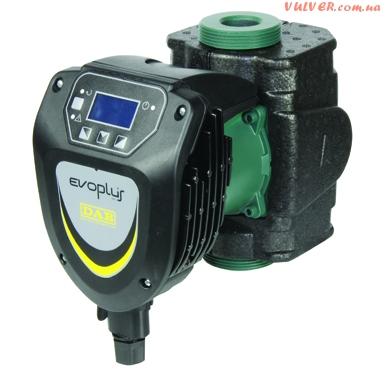 EVOPLUS – циркуляционный насос с мокрым ротором и электронным регулированием.
