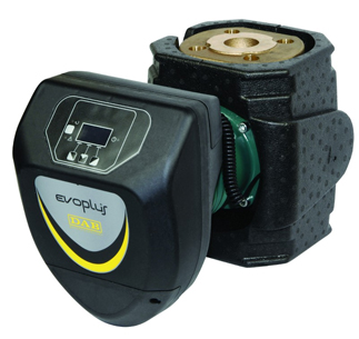EVOPLUS SAN –  циркуляционный насос с мокрым ротором и электронным регулированием для системы горячей воды