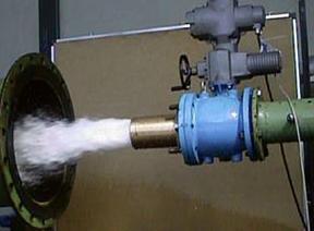 Моделирование процессов в сбросных клапанах